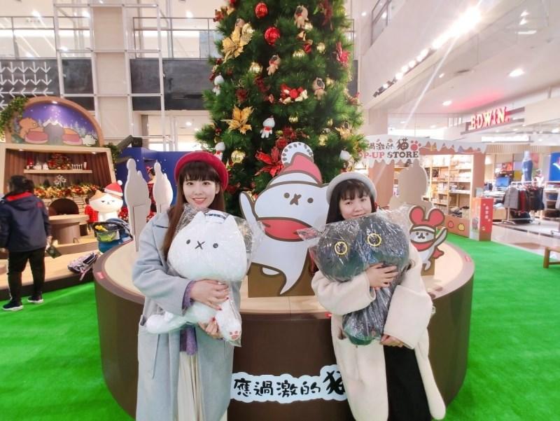 環球購物中心與反應過激的貓聯手打造飄雪耶誕村!
