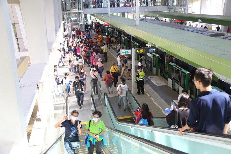 台中捷運綠線交通部准營運了!試營運期間皆免費搭乘!